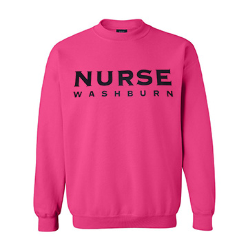Image For Sweatshirt - MV Sport Comfort Fleece Washburn Nurse