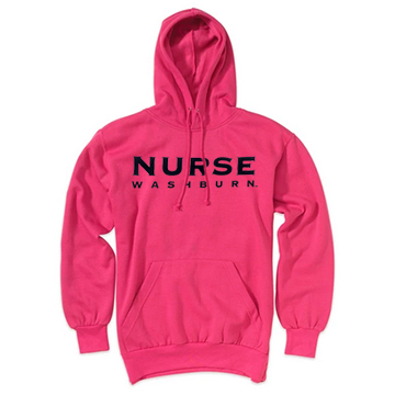 Image For Hoodie - MV Sport Comfort Fleece Washburn Nurse
