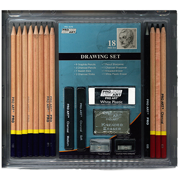 Image For 18 Piece Drawing Set