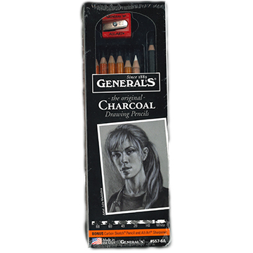 Image For Charcoal Drawing Pencils