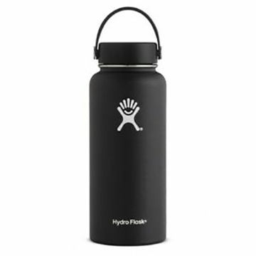 Image For Hydro Flask - 32 oz Wide-Mouth Black