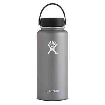 Image For Hydro Flask - 32 oz Wide-Mouth Graphite