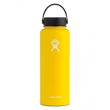 Image For Hydro Flask - 40 oz Wide Mouth flex Cap Lemon