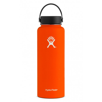Image For Hydro Flask - 40 oz Wide Mouth Flex Cap Orange