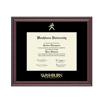 Image For Diploma Frame - Gold Embossed