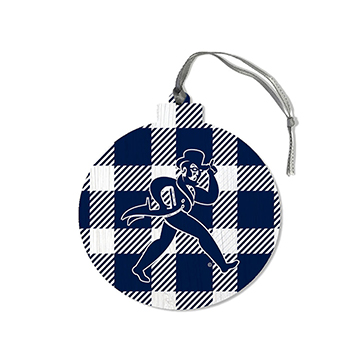 Image For Ornament - Washburn Round Plaid