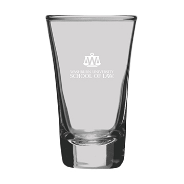Image For Shot Glass - 2 oz Washburn School of Law