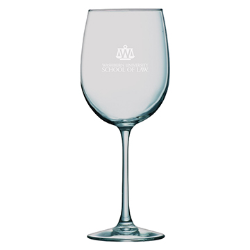Image For Wine Glass - 16 oz Sanctuary White Wine School of Law