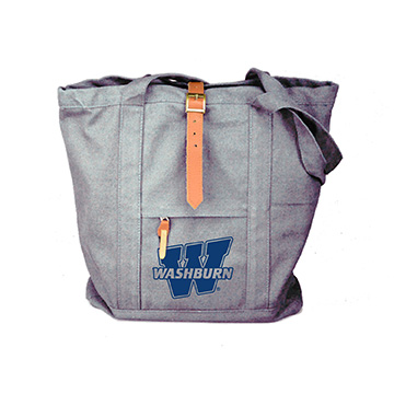 Image For Tote - Grey Two Strap Bag