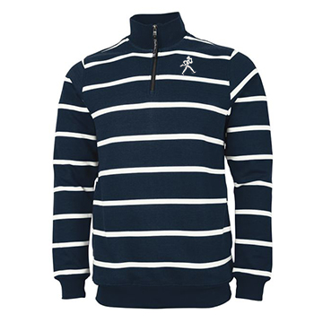 Image For Sweatshirt - Charles River Crosswind Quarter Zip