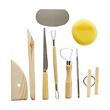 Image For POTTERY TOOL KIT 8 PC