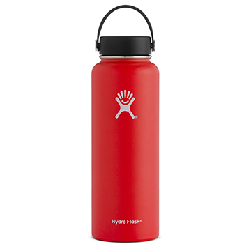 Image For Hydro Flask - 40 oz Bottle Lychee Red