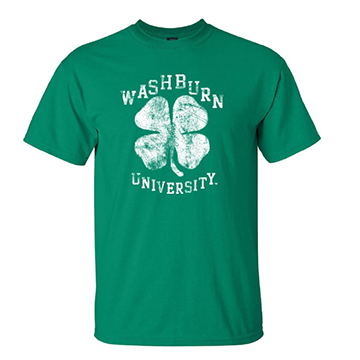 Image For Tee - Washburn University Clover