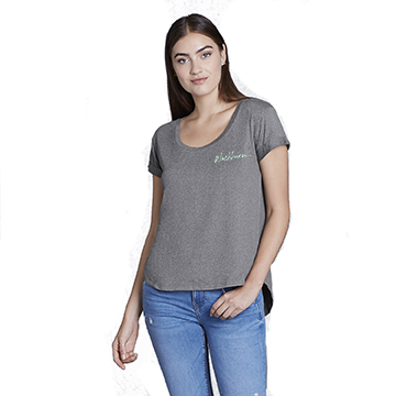 Image For Tee - CoolLast Ladies Heather Lux Dolman