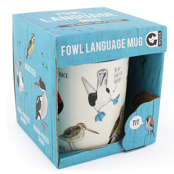 Image For MUG FOWL LANGUAGE