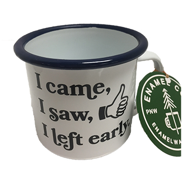 Image For MUG LEFT EARLY