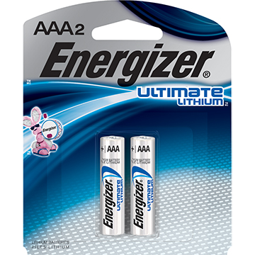 Image For BATTERIES AAA LITHIUM 2PK