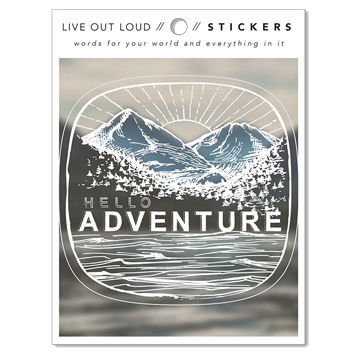 Image For Sticker - Hello Adventure