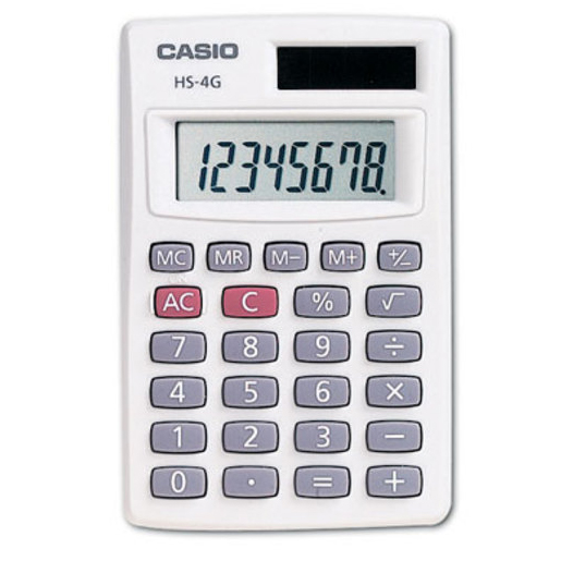 Image For Calculator - Casio HS-4GS
