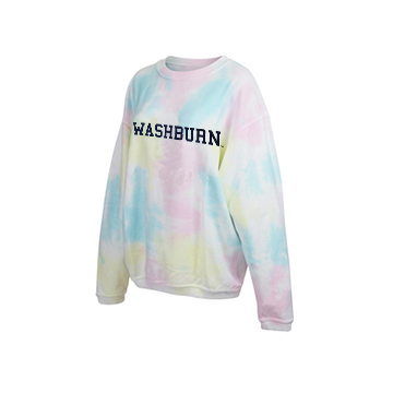 Cover Image For Sweatshirt - Pastel Tie Dye Corded