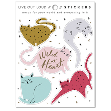 Image For Sticker - Wild at Heart