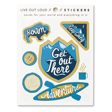 Image For Sticker - Get Out There Sheet