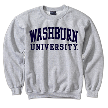 Image For Sweatshirt - WASHBURN Comfort Fleece Crew
