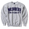 Sweatshirt - WASHBURN Comfort Fleece Crew Image