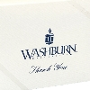 Cover Image for Stationery - Washburn Thank You